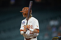 Duke Ellis (11) of the Texas Longhorns at bat against the Missouri Tigers in game eight of the 2020 Shriners Hospitals for Children College Classic at Minute Maid Park on March 1, 2020 in Houston, Texas. The Tigers defeated the Longhorns 9-8. (Brian Westerholt/Four Seam Images)