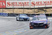 Monster Energy NASCAR Cup Series<br /> Toyota/Save Mart 350<br /> Sonoma Raceway, Sonoma, CA USA<br /> Sunday 25 June 2017<br /> Denny Hamlin, Joe Gibbs Racing, FedEx Ground Toyota Camry, Chase Elliott, Hendrick Motorsports, Kelley Blue Book Chevrolet SS<br /> World Copyright: John K Harrelson<br /> LAT Images
