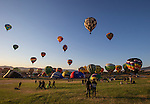 A photograph from the Great Reno Balloon Races held on Saturday, Sept. 10, 2016.