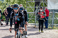 at the finish<br /> <br /> 104th Giro d'Italia 2021 (2.UWT)<br /> Stage 19 from Abbiategrasso to Alpe di Mera (Valsesia)(176km)<br /> <br /> ©kramon