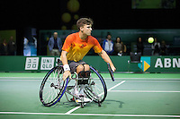 Rotterdam, The Netherlands, Februari 11, 2016,  ABNAMROWTT, Gordon Reid (GBR)<br /> Photo: Tennisimages/Henk Koster