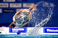KOCH Vivienne / PESCHL Joelle SUI <br /> DUET FREE Final <br /> Artistic Swimming<br /> Budapest  - Hungary  14/5/2021<br /> Duna Arena<br /> XXXV LEN European Aquatic Championships<br /> Photo Andrea Staccioli / Deepbluemedia / Insidefoto