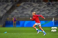 Belo Horizonte, Brazil - Wednesday, August 3, 2016: The USWNT take on New Zealand in first round Group G play during the 2016 Olympics at Mineirão stadium.
