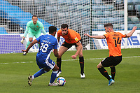 Jacob Mellis of Gillingham takes on the Oxford United defence during Gillingham vs Oxford United, Sky Bet EFL League 1 Football at the MEMS Priestfield Stadium on 10th October 2020
