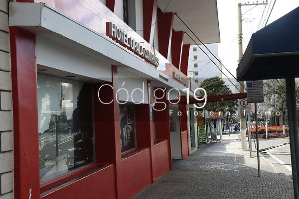 Campinas (SP), 13/05/2021 - HOTEL-SP - Hotel Opala encerra suas atividades em Campinas nesta quinta-feira (13).
