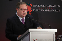 October 7, 2013 -  	GUY BERTHIAUME, CHAIR & CEO OF BIBLIOTHEQUE ET ARCHIVES NATIONALES DU QUEBEC, DELIVERS A SPEECH TO THE CANADIAN CLUB OF MONTREAL .<br /> <br /> Since its opening, in 2005, the Grande Bibliothèque has enjoyed record-breaking visitorship. It is currently the most visited public library in North America and the French-speaking world.  Apart from the 1.5 million books it holds, to what can we attribute its success and how does it contribute to the advent of the new economy?