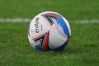 Match ball Mitre Delta Max during Crawley Town vs Barrow, Sky Bet EFL League 2 Football at Broadfield Stadium on 12th December 2020
