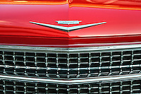 Classic Chevy grille.