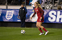 Columbus, Ohio - Thursday March 01, 2018: Lindsey Horan during a 2018 SheBelieves Cup match between the women's national teams of the United States (USA) and Germany (GER) at MAPFRE Stadium.