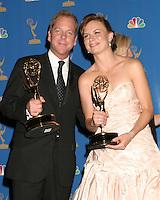 Kiefer Sutherland & Mary Lynn Rajskub.58th Primetime Emmy Awards.Shrine Auditorium.Los Angeles, CA.August 27, 2006.©2006 Kathy Hutchins / Hutchins Photo....