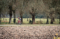 Danique Braam (NED/Lotto-Soudal) going for it<br /> <br /> AG Driedaagse Brugge-De Panne 2020 (1.WWT)<br /> 1 day race from Brugge to De Panne (156km) <br /> <br /> ©kramon