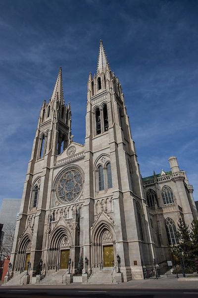 Catholic Church, Denver, Colorado, USA John offers private photo tours of Denver, Boulder and Rocky Mountain National Park.