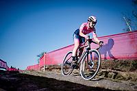 Eva Lechner (ITA/Valcar)<br /> <br /> Elite Women's Race<br /> 2021 UCI cyclo-cross World Cup - Zonhoven (BEL)<br /> <br /> ©kramon
