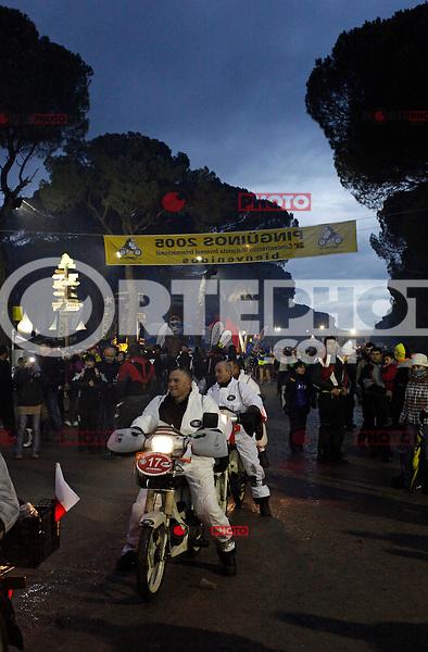 Pinguinos 2013, international motorbike meeting in Puente Duero, Valladolid. January, 12 2013. (ALTERPHOTOS/Victor Blanco) NORTEPHOTO