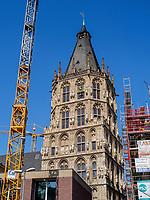 Historisches Rathaus, Köln, Nordrhein-Westfalen, Deutschland, Europa<br /> Historical townhall, Cologne, North Rhine-Westphalian, Germany, Europe
