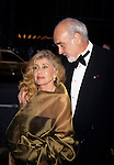 Sean Connery with wife Micheline Roquebrune at the 1998 Tony Awards at Radio City Music Hall in New York City on June 7th, 1998.