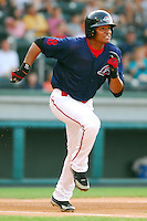 10 Aug 2007: Argenis Diaz of the Greenville Drive, Class A South Atlantic League affiliate of the Boston Red Sox, in a game against the Delmarva Shorebirds at West End Field in Greenville, S.C. Photo by:  Tom Priddy/Four Seam Images