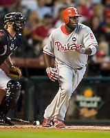Howard, Ryan 5540.jpg Philadelphia Phillies at Houston Astros. Major League Baseball. September 6th, 2009 at Minute Maid Park in Houston, Texas. Photo by Andrew Woolley.