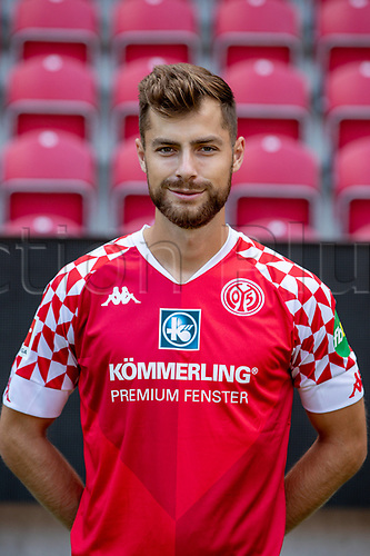 16th August 2020, Rheinland-Pfalz - Mainz, Germany: Official media day for FSC Mainz players and staff; Alexander Hack FSV Mainz 05