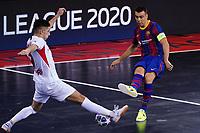 9th October 2020; Palau Blaugrana, Barcelona, Catalonia, Spain; UEFA Futsal Champions League Finals; FC Barcelona versus MFK KPRF;  Lozano