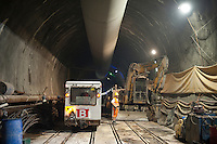 Switzerland,Schweiz; Ticino; Alptransit; NEAT; Gotthard Tunnel, Gottardo Tunnel Base, 57 km., Longest and deepest railway tunnel in the world
