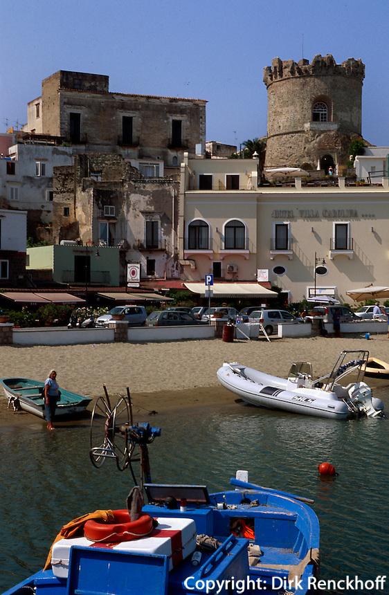 Italien, Ischia, Forio an der Westküste