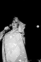 July 1st, 1985 File Photo - Ginette Reno<br /> perform at Canada Day Concert in Montreal's Old-Port