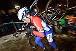 Lars van der Haar (Giant-Shimano) pictured during the Super Prestige Veldrijden - Cyclocross for Elite Men in Diegem, Belgium. 28th December 2014.<br /> Photo: Cor Vos/www.newsfile.ie