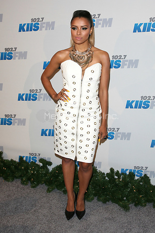 LOS ANGELES, CA - DECEMBER 01: Kat Graham at KIIS FM's 2012 Jingle Ball at Nokia Theatre L.A. Live on December 1, 2012 in Los Angeles, California. Credit: mpi21/MediaPunch Inc.