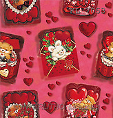 Interlitho, Stephen, GIFT WRAPS, paintings, animals, hearts(KL7053,#GP#) everyday