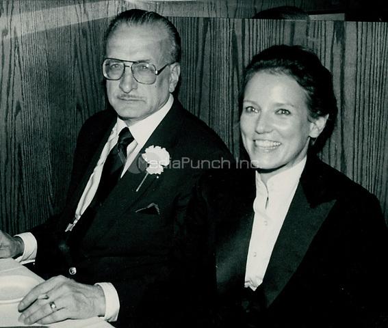George C Scott & wife Trish Van Devere 1978<br /> Photo By John Barrett-PHOTOlink.net / MediaPunch
