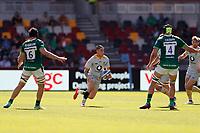 5th June 2021; Brentford Community Stadium, London, England; Gallagher Premiership Rugby, London Irish versus Wasps; Jacob Umaga of Wasps looks for a running lane