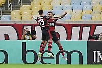 Rio de Janeiro (RJ), 12/07/2020 -Fluminense-Flamengo - Michael jogador do Flamengo comemora seu gol,durante partida contra o Fluminense,válida pela final do Campeonato Carioca,realizada no Estádio Jornalista Mário Filho (Maracanã), na zona norte do Rio de Janeiro,neste domingo (12).