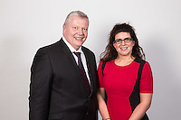 President Nottinghamshire Law Society Michael Auty QC with Vice President Kathryn Meir