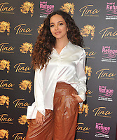 """Jade Thirlwall at the """"Tina: The Tina Turner Musical"""" Refuge gala performance, Aldwych Theatre, Aldwych, on Sunday 10th October 2021, in London, England, UK. <br /> CAP/CAN<br /> ©CAN/Capital Pictures"""