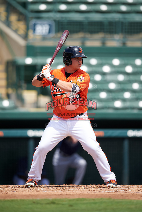 Baltimore Orioles Alex Murphy (34) during an Instructional League game against the Tampa Bay Rays on September 19, 2016 at Ed Smith Stadium in Sarasota, Florida.  (Mike Janes/Four Seam Images)