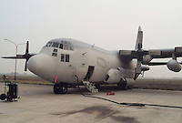 - aereo C 130 da contromisure elettroniche dell'US Air Force....- C 130 aircraft for electronic countermeasures of the US Air Force