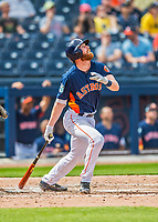 1 March 2017: Houston Astros infielder Colin Moran in Spring Training action against the Miami Marlins at the Ballpark of the Palm Beaches in West Palm Beach, Florida. The Marlins defeated the Astros 9-5 in Grapefruit League play. Mandatory Credit: Ed Wolfstein Photo *** RAW (NEF) Image File Available ***