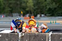 Marshals mascots, 24 Hours of Le Mans , Free Practice 1, Circuit des 24 Heures, Le Mans, Pays da Loire, France