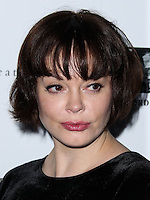 HOLLYWOOD, LOS ANGELES, CA, USA - AUGUST 06: Actress Rose McGowan arrives at the Los Angeles Premiere Of Screen Media Films' 'About Alex' held at ArcLight Hollywood on August 6, 2014 in Hollywood, Los Angeles, California, United States. (Photo by Xavier Collin/Celebrity Monitor)