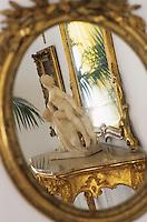 "Europe/Italie/Côte Amalfitaine/Campagnie/Ravello : Les salons de l'hôtel ""Palazzo Sasso"" via San Giovanni del Toro"