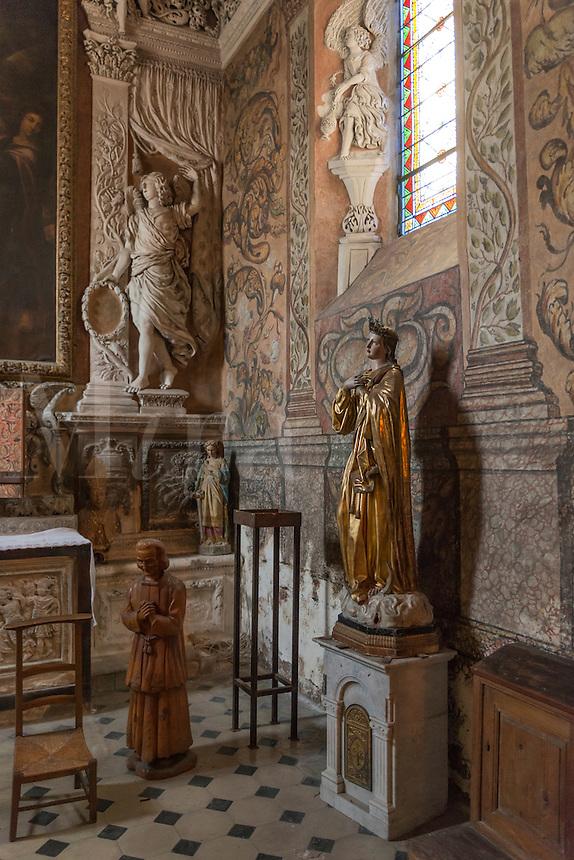 Church of the apostle St Paul, St Paul de Vance, Provence, France