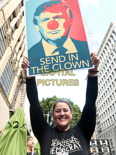 ALos Angeles CA - JANUARY 21: Camryn Manheim, At Women's March Los Angeles, At Downtown Los Angeles In California on January 21, 2017. <br /> CAP/MPI/FS<br /> ©FS/MPI/Capital Pictures