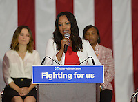 Garcelle Beauvais @ the Women For Hillary Organizing Event held @ West Los Angeles College.<br /> June 3, 2016