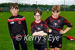 Park FC's U12's attending the soccer blitz in the Park on Saturday, l to r: Etan Ballard, Conor O'Regan and Philip McEneaney