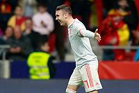 Spain's Iago Aspas celebrates goal during international friendly match. March 27,2018.(ALTERPHOTOS/Acero) /NortePhoto.com NORTEPHOTOMEXICO