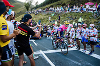 Neilson Powless (USA/EF Pro Cycling) up the Col de Peyresourde <br /> <br /> Stage 8 from Cazères-sur-Garonne to Loudenvielle 141km<br /> 107th Tour de France 2020 (2.UWT)<br /> (the 'postponed edition' held in september)<br /> ©kramon