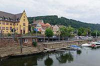 Tauber in Wertheim, Baden-Württemberg, Deutschland