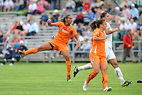 Rosana,..Saint Louis Athletica and Sky Blue FC played to a 2-2 tie at Anheuser-Busch Soccer Park, Fenton, MO...Athletica wore white / pink uniforms in support of breast cancer awareness.