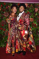 Cherrelle Skeete and Shiloh Coke<br /> arriving for the Evening Standard Theatre Awards 2019, London.<br /> <br /> ©Ash Knotek  D3539 24/11/2019